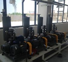 龙铁真空上料项目用罗茨真空泵