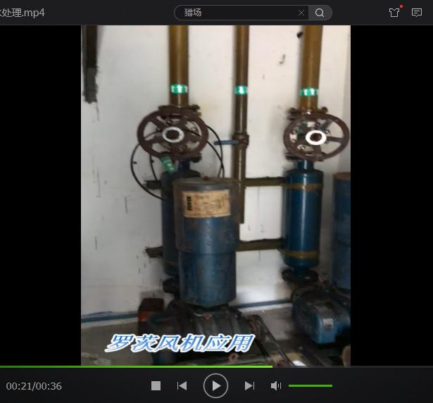 应用于医院污水处理的罗茨鼓风机维修